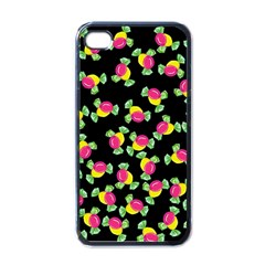 Candy Pattern Apple Iphone 4 Case (black) by Valentinaart