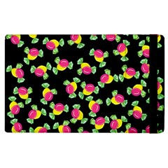 Candy Pattern Apple Ipad 2 Flip Case by Valentinaart