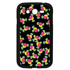 Candy Pattern Samsung Galaxy Grand Duos I9082 Case (black) by Valentinaart