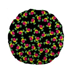 Candy Pattern Standard 15  Premium Flano Round Cushions