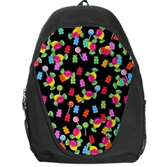 Candy Pattern Backpack Bag by Valentinaart