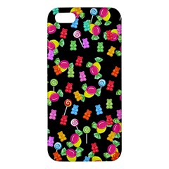 Candy Pattern Apple Iphone 5 Premium Hardshell Case