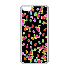 Candy Pattern Apple Iphone 5c Seamless Case (white) by Valentinaart