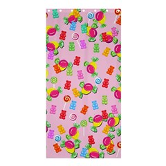 Candy Pattern Shower Curtain 36  X 72  (stall)  by Valentinaart