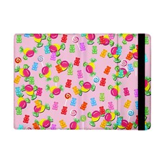 Candy Pattern Apple Ipad Mini Flip Case by Valentinaart