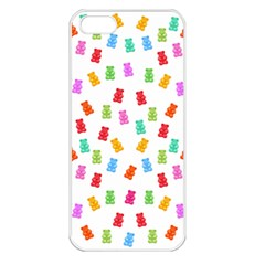Candy Pattern Apple Iphone 5 Seamless Case (white) by Valentinaart