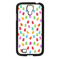 Candy Pattern Samsung Galaxy S4 I9500/ I9505 Case (black) by Valentinaart