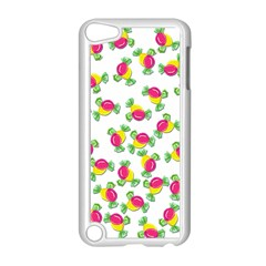 Candy Pattern Apple Ipod Touch 5 Case (white) by Valentinaart