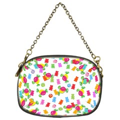 Candy Pattern Chain Purses (one Side)