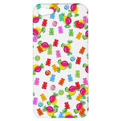 Candy Pattern Apple Iphone 5 Hardshell Case by Valentinaart