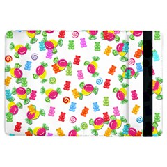 Candy Pattern Ipad Air Flip by Valentinaart