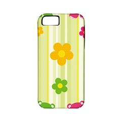 Animals Bear Flower Floral Line Red Green Pink Yellow Sunflower Star Apple Iphone 5 Classic Hardshell Case (pc+silicone) by Mariart