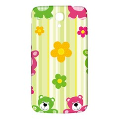 Animals Bear Flower Floral Line Red Green Pink Yellow Sunflower Star Samsung Galaxy Mega I9200 Hardshell Back Case
