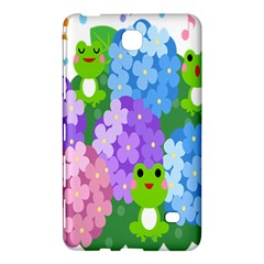 Animals Frog Face Mask Green Flower Floral Star Leaf Music Samsung Galaxy Tab 4 (8 ) Hardshell Case  by Mariart