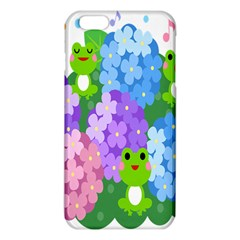 Animals Frog Face Mask Green Flower Floral Star Leaf Music Iphone 6 Plus/6s Plus Tpu Case