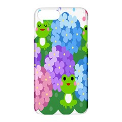 Animals Frog Face Mask Green Flower Floral Star Leaf Music Apple Iphone 7 Plus Hardshell Case by Mariart