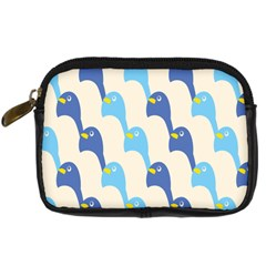 Animals Penguin Ice Blue White Cool Bird Digital Camera Cases by Mariart