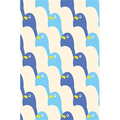 Animals Penguin Ice Blue White Cool Bird 5 5  X 8 5  Notebooks by Mariart