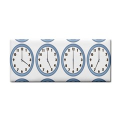 Alarm Clock Hour Circle Cosmetic Storage Cases by Mariart