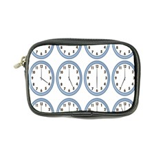 Alarm Clock Hour Circle Coin Purse by Mariart