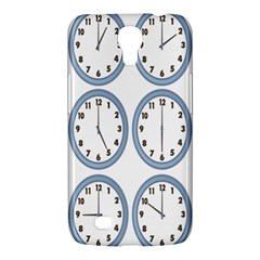 Alarm Clock Hour Circle Samsung Galaxy Mega 6 3  I9200 Hardshell Case