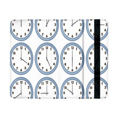 Alarm Clock Hour Circle Samsung Galaxy Tab Pro 8 4  Flip Case by Mariart