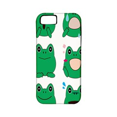 Animals Frog Green Face Mask Smile Cry Cute Apple Iphone 5 Classic Hardshell Case (pc+silicone) by Mariart