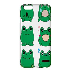 Animals Frog Green Face Mask Smile Cry Cute Apple Iphone 6 Plus/6s Plus Hardshell Case by Mariart
