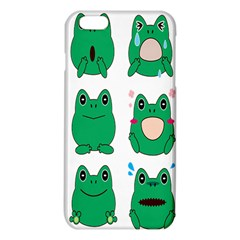 Animals Frog Green Face Mask Smile Cry Cute Iphone 6 Plus/6s Plus Tpu Case