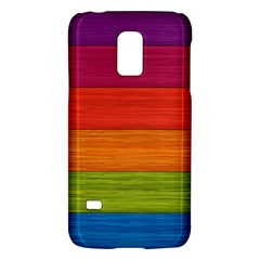 Wooden Plate Color Purple Red Orange Green Blue Galaxy S5 Mini by Mariart
