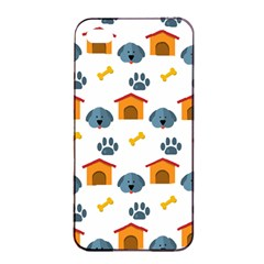 Bone House Face Dog Apple Iphone 4/4s Seamless Case (black) by Mariart
