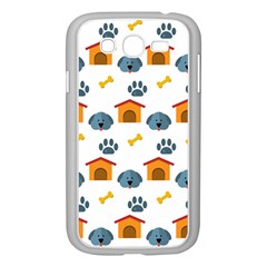 Bone House Face Dog Samsung Galaxy Grand Duos I9082 Case (white) by Mariart