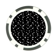 Black Star Space Poker Chip Card Guard (10 Pack) by Mariart