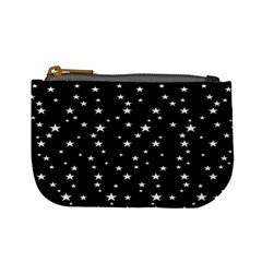 Black Star Space Mini Coin Purses by Mariart