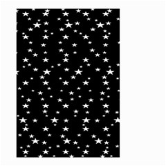 Black Star Space Small Garden Flag (two Sides) by Mariart