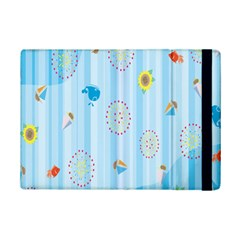 Animals Whale Sunflower Ship Flower Floral Sea Beach Blue Fish Ipad Mini 2 Flip Cases by Mariart