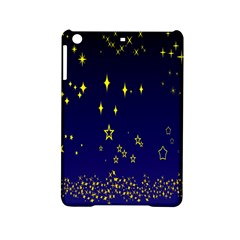 Blue Star Space Galaxy Light Night Ipad Mini 2 Hardshell Cases by Mariart
