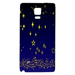 Blue Star Space Galaxy Light Night Galaxy Note 4 Back Case by Mariart