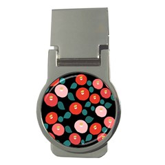 Candy Sugar Red Pink Blue Black Circle Money Clips (round)  by Mariart