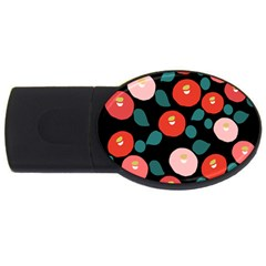 Candy Sugar Red Pink Blue Black Circle Usb Flash Drive Oval (2 Gb) by Mariart