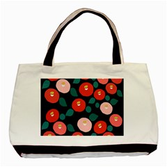 Candy Sugar Red Pink Blue Black Circle Basic Tote Bag