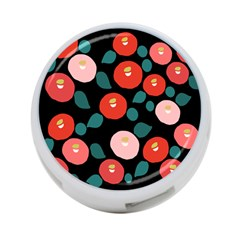 Candy Sugar Red Pink Blue Black Circle 4 Port Usb Hub (two Sides)  by Mariart