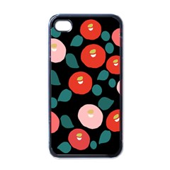 Candy Sugar Red Pink Blue Black Circle Apple Iphone 4 Case (black) by Mariart