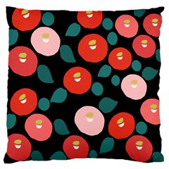 Candy Sugar Red Pink Blue Black Circle Large Cushion Case (two Sides) by Mariart