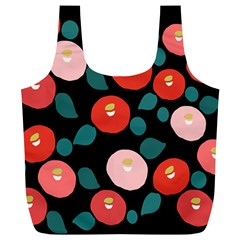 Candy Sugar Red Pink Blue Black Circle Full Print Recycle Bags (l)  by Mariart