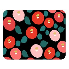 Candy Sugar Red Pink Blue Black Circle Double Sided Flano Blanket (large)  by Mariart