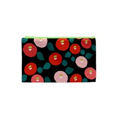 Candy Sugar Red Pink Blue Black Circle Cosmetic Bag (xs) by Mariart
