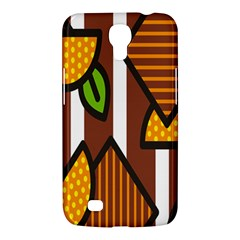 Chocolate Lime Brown Circle Line Plaid Polka Dot Orange Green White Samsung Galaxy Mega 6 3  I9200 Hardshell Case by Mariart