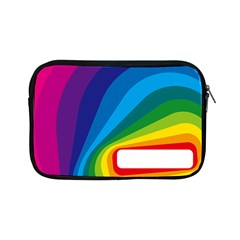 Circle Rainbow Color Hole Rasta Waves Apple Ipad Mini Zipper Cases by Mariart