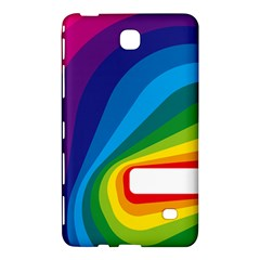 Circle Rainbow Color Hole Rasta Waves Samsung Galaxy Tab 4 (8 ) Hardshell Case  by Mariart